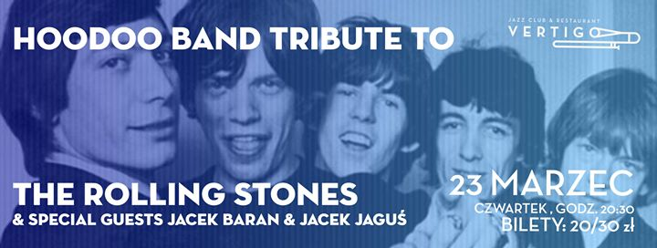 Featured image for 'HooDoo Band Tribute To The Rolling Stones & Special Guests'