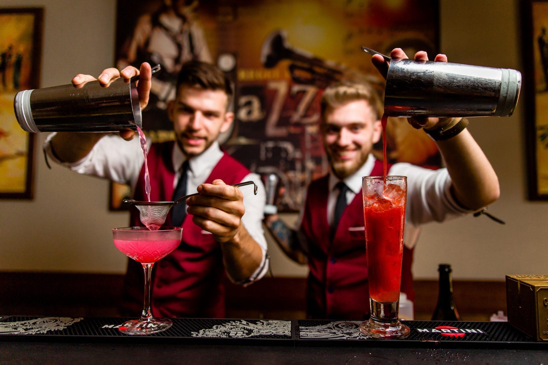 Mobilny Bar Vertigo - barmani