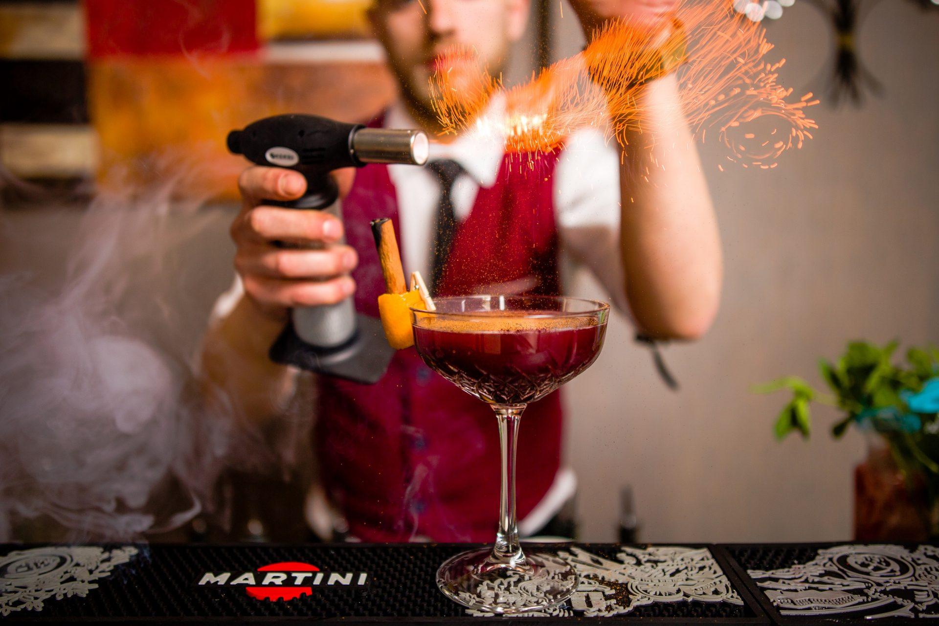 Mobilny Bar Vertigo - ogień pod kontrolą