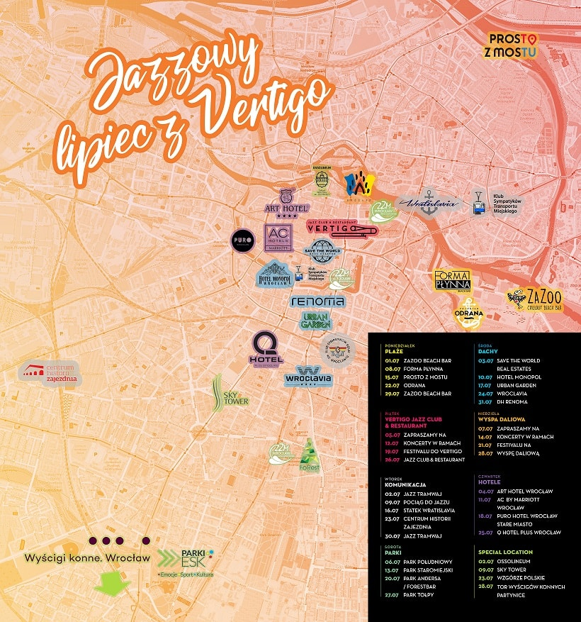 Mapa Festivalowa
